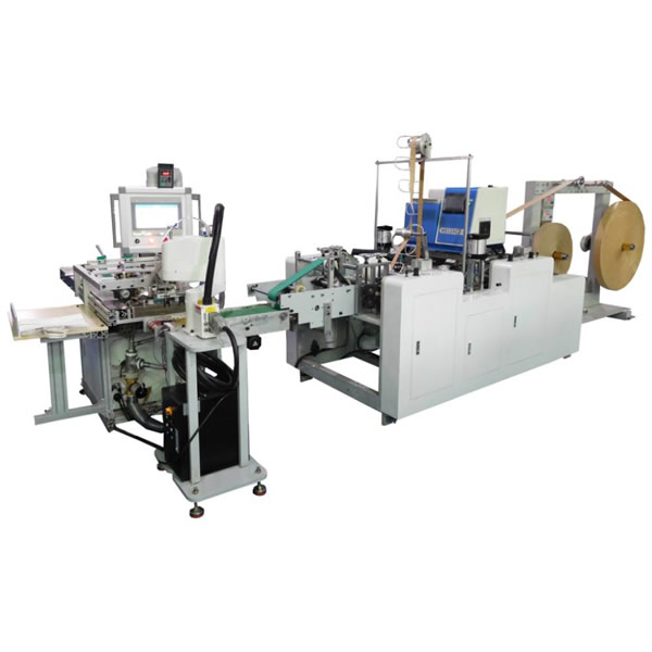 Fully Automatic Paper Handle Pasting Machine