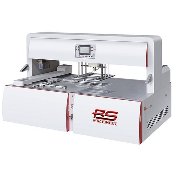 TM-S Automatic Blanking Stripping Machine Single Head مكينه تكسير الورق