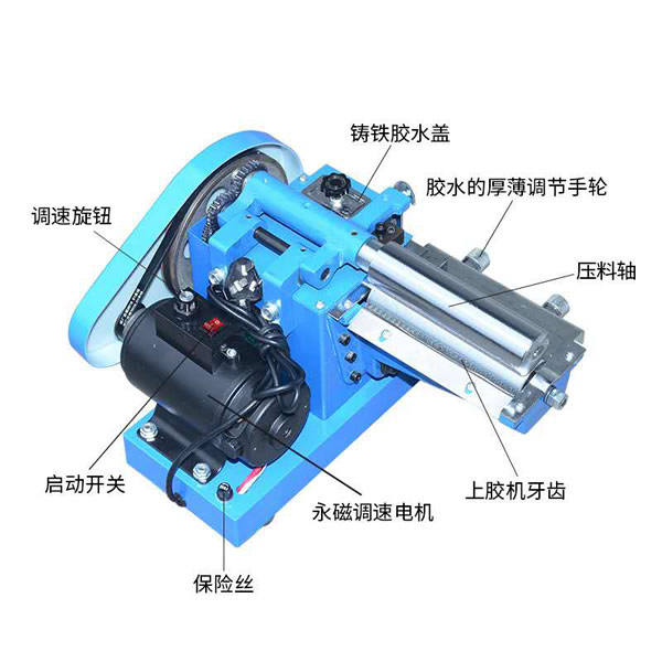 Manual Paper Bag Handle Gluing Machine