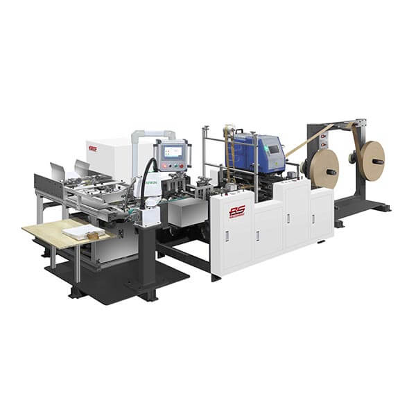 Fully Automatic Paper Handle Making And Pasting Machine